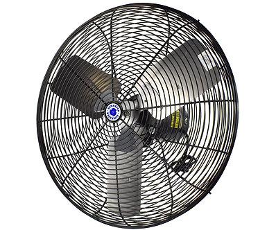 "20"" Oscillating Circulation Fan, Black OSHA Guards"