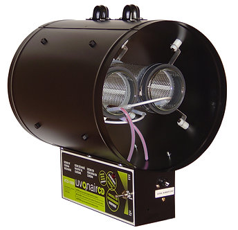 """10"""" CD-In-Line Duct Ozonator 2 cells"""