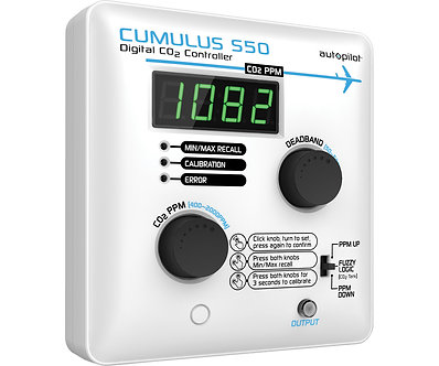 CUMULUS S50 Digital Co2 Controller - 14.5 amps/120