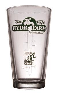 Hydrofarm Pint Glass