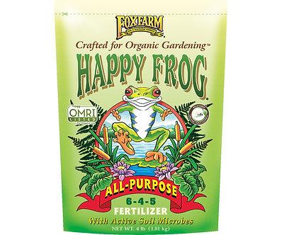 Happy Frog All Purpose Dry Fertilizer 4 lb bag