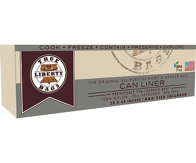"20 Gallon Can Liners 30"" x 48"" - 10 Pack, Formerly: Ostrich"