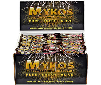 MYKOS Pure Mycorrhizal Inoculum 100g, case of 60