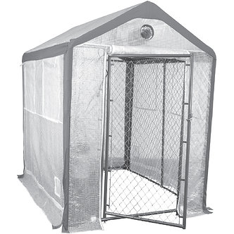 10' x 8' Secure Grow Chain Link Greenhouse