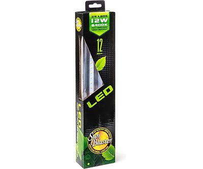 "12"" SunBlaster 24-LED High Output 6400K 12W Strip Light"