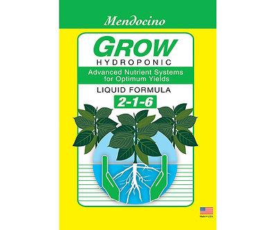 Mendocino Grow 2-1-6, 1 gal.