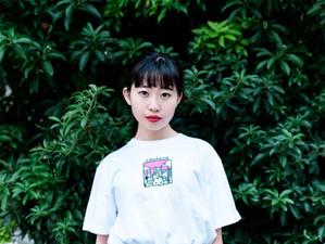 【穂木の香】やさうさちゃん シティTシャツモデル
