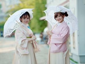 【りぷ】『浅草愛和服』『京都愛和服』2021秋の着物モデル