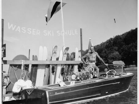 Wasserski-Legende Robert Mureny ist gestorben
