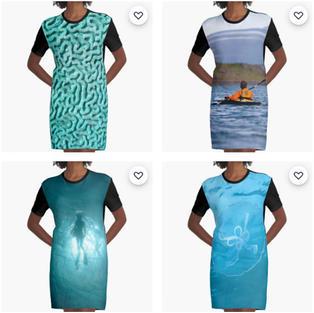 Graphic T-shirt Dresses, Redbubble