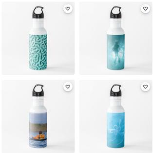 Water Bottles, Redbubble