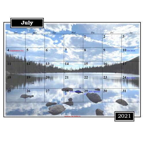 2021 Mixed Photo Calendar