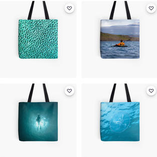 All Over Totes, Redbubble