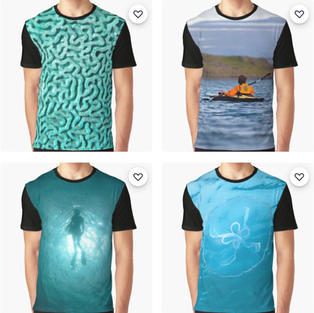 Graphic T-shirts, Redbubble
