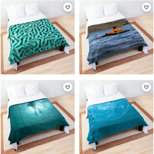Comforters, Redbubble