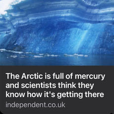 Chemical and Substance Pollution - Mercury
