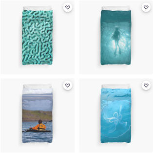 Duvet Covers, Redbubble