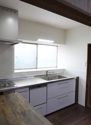 キッチンと洗面化粧台の入替リフォーム   広島県福山市