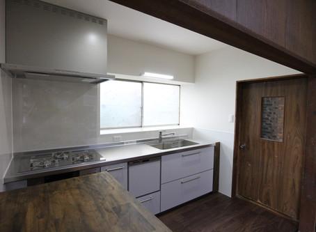 キッチンと洗面化粧台の入替リフォーム | 広島県福山市