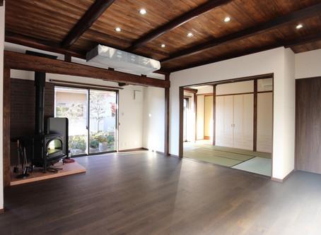 広島県府中市 |生まれ育った家を、間取りから全て変えてリノベーション