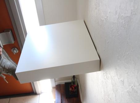 広島県府中市 | 玄関:既存飾り棚の修理 |自分でやるより短時間プロに頼むのが一番 | ちぃと大工
