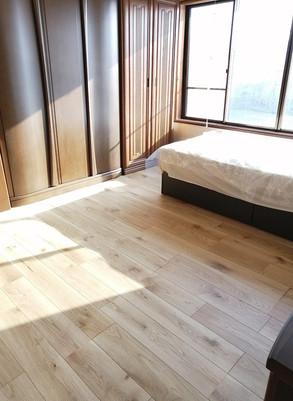 洋室・階段・洗面リフォーム 経年劣化で古くなったところを心機一転   広島県府中市