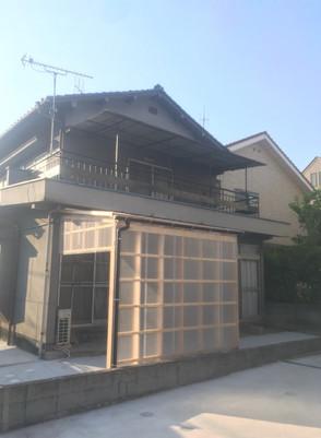 広島県福山市 | 洗濯干し場造作|ポリカーボネート板