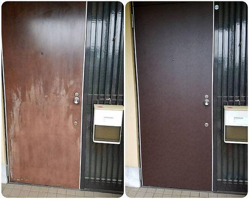 府中市玄関ドアリフォーム