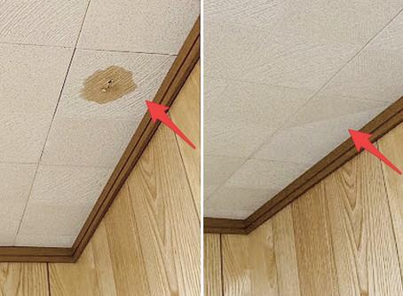 天井のシミ・穴補修| ちぃと大工 |府中市
