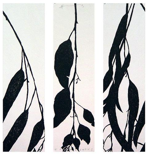 Eucalyptus (triptych) de Jan Hendrix