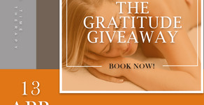 THE GRATITUDE GIVEAWAY