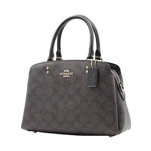 Authentic Original & Brand New Coach Signature Mini Lillie Carryall Bag