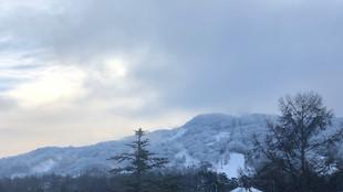 軽井沢にようやく冬が来た