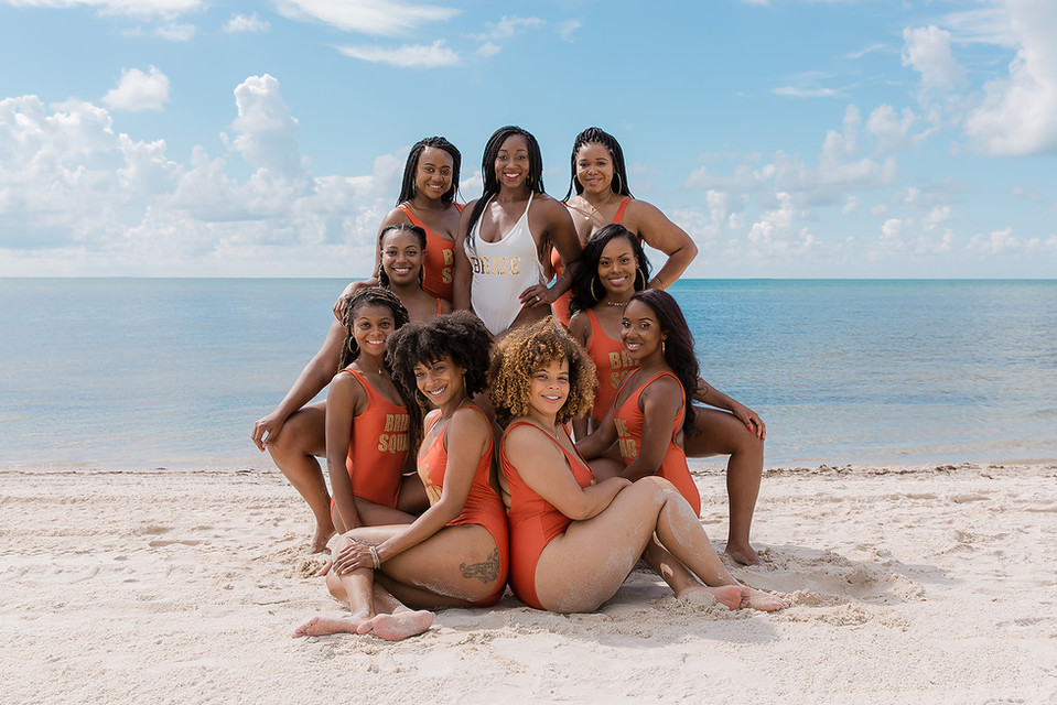 Bachelorette Party Smathers beach Key West