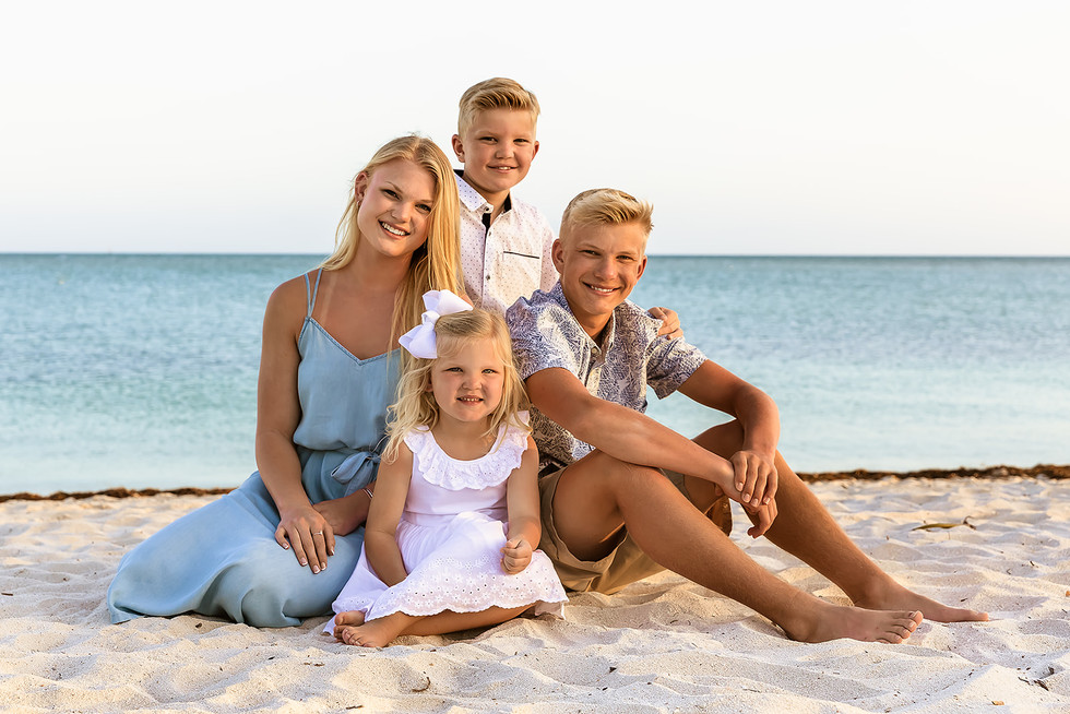 Family Photos Sombrero Beach Marathon Florida