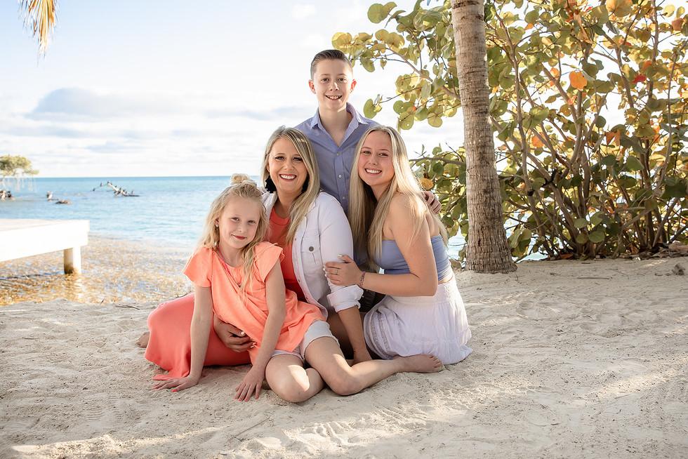 Family Photos Isla Bella Spa and Resort Knights Key Marathon Florida