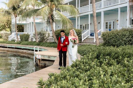Florida Keys Wedding Tranquility Bay Marathon Florida