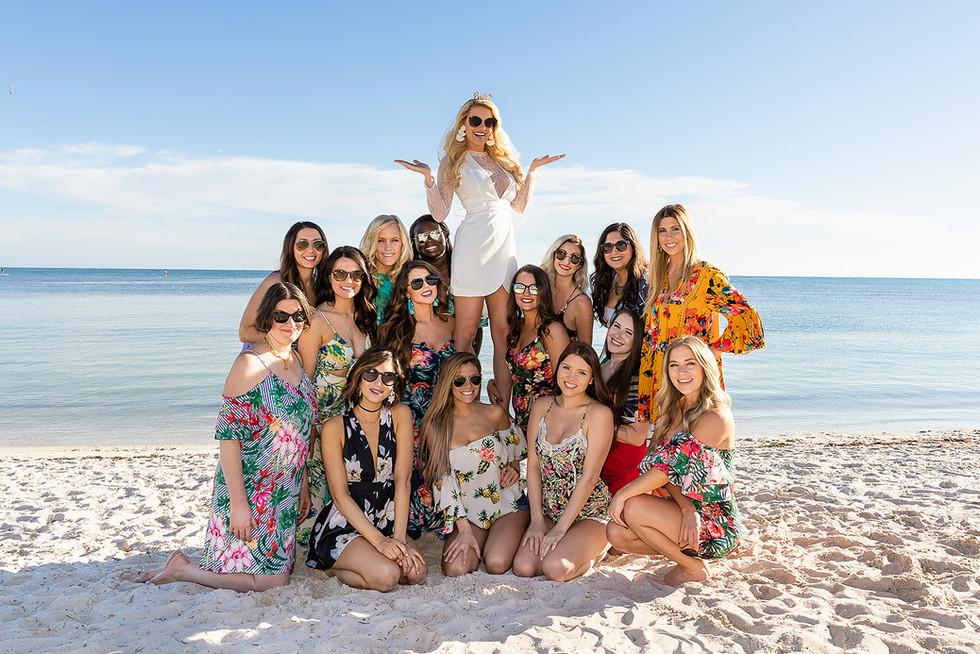 Bachelorette Party Smather Beach Key West