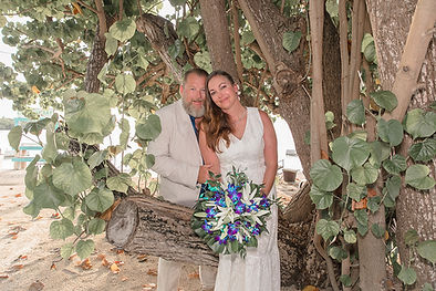 Wedding at Lime Tree Bay Long Key Florida Keys