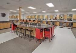 WCHS Cosmetology Room 1 Centre Table