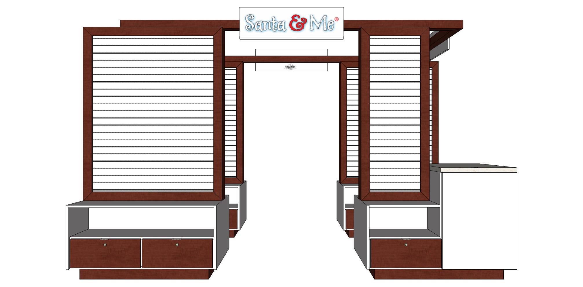 Santa & Me, Kiosk 16-807