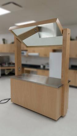 WCHS Demonstration Desk back