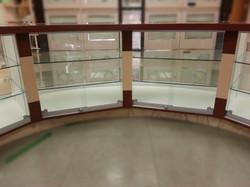detail glass door