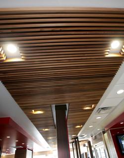 Wood Slat Feature