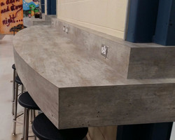 WCHS cafeteria Table