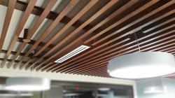 Wood Slats - Cafe Seating 538