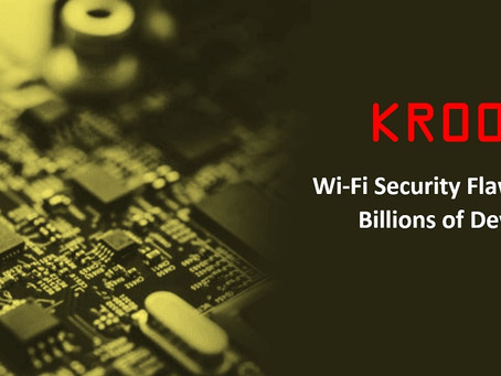 Kr00k Could Rob You Using Your Wi-Fi