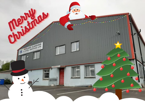 Merry Christmas! Christmas Opening Hours.