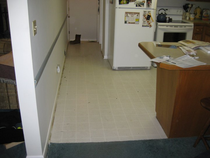 Before Interior Flooring