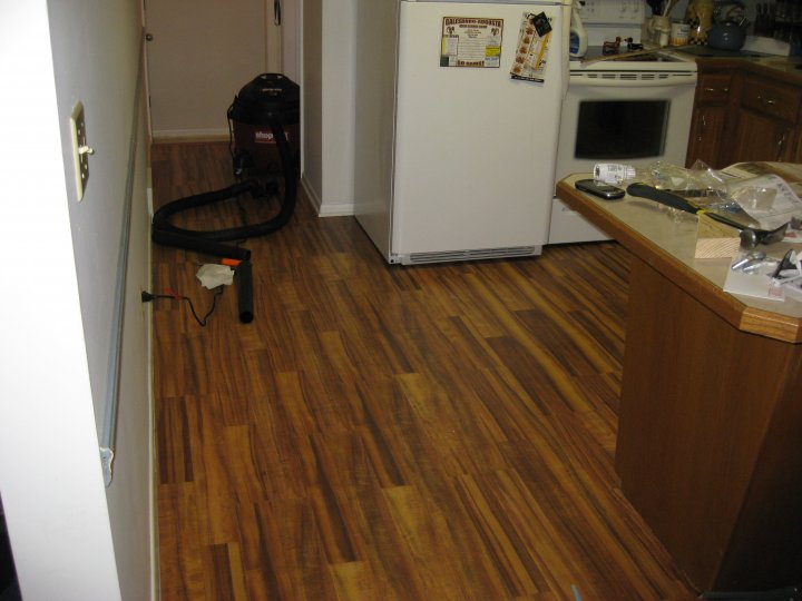 After Interior Flooring